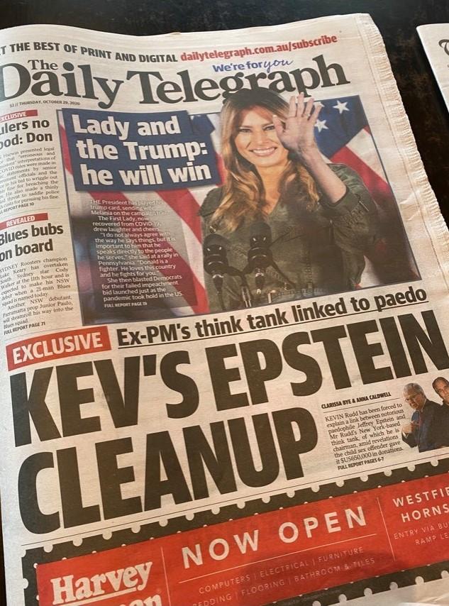 Rupert Murdoch attacks Kevin Rudd