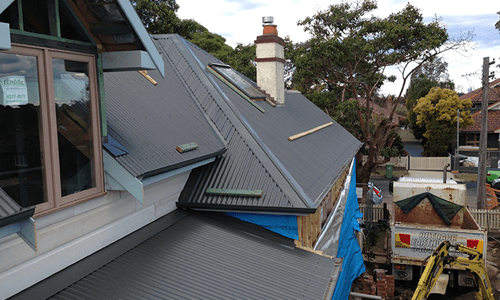 new colorbond roof, roof leak repairs sydney, roofing sydney, polycarbonate roofing