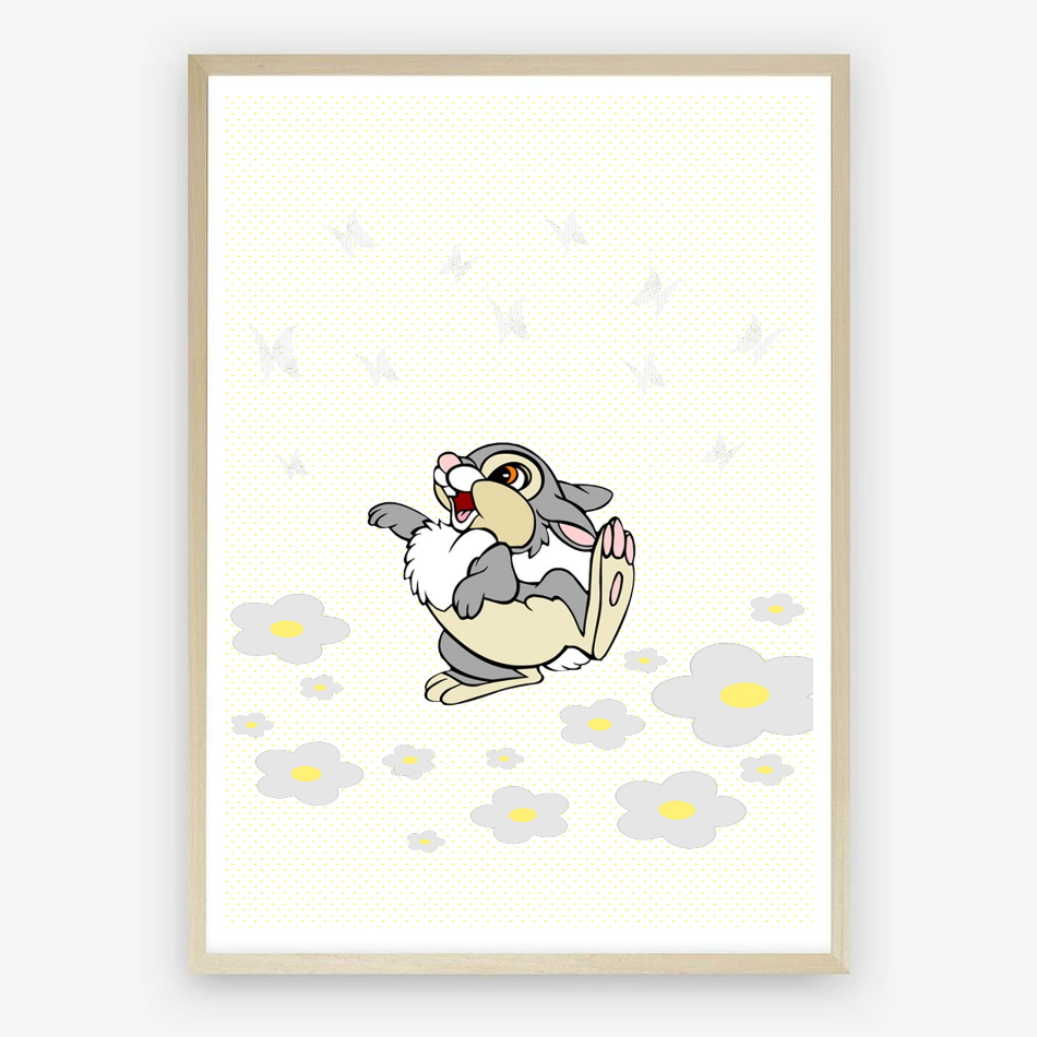 Thumper Nursery Wall Art Print Instant Download