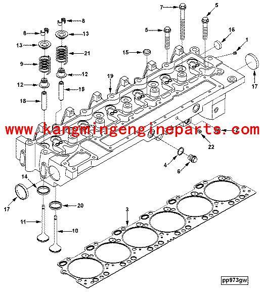 Genuine cummmins auto parts C series retainer socket 3935945