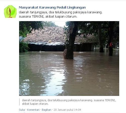 Info Banjir Karawang 2014 (4/5)
