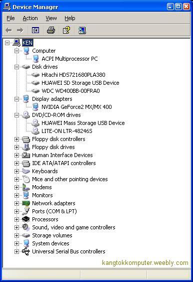 Fungsi Control Panel Pada Windows 7 : fungsi, control, panel, windows, Device, Manager, Kangtokkomputer