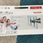 テレビの壁掛け金具設置
