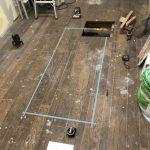 床下収納庫の施工