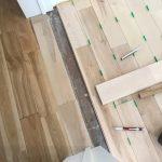 床フローリング材の施工⑥