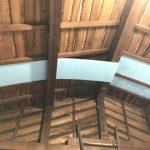 屋根下の断熱加工
