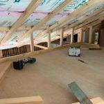 ロフト部分の天井貼り