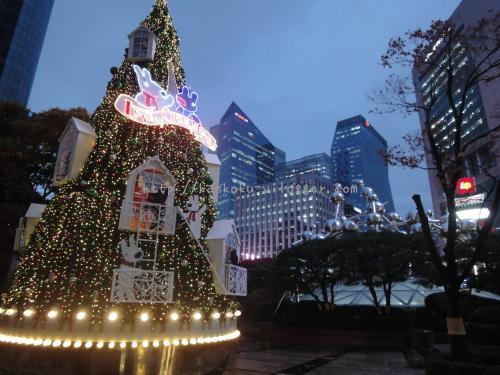 2016年韓国ソウルロッテのクリスマスイルミネーション02