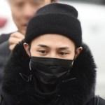G-DRAGON(ジヨン)入隊20180227