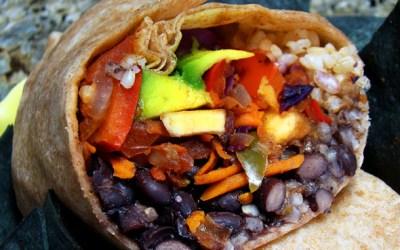 Kankuntastic brings you the vegetarian burrito for Vegetarian Week