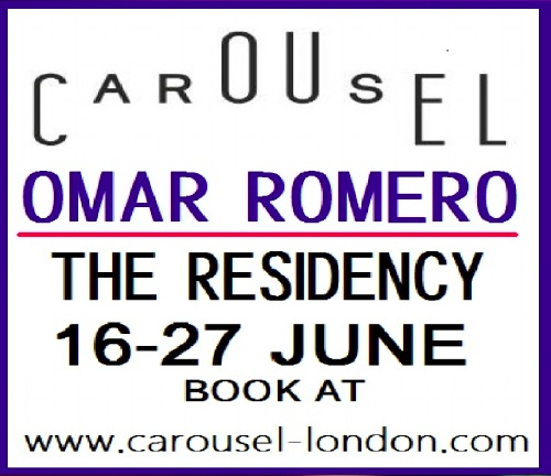 Kankun present at Carousel London by Chef Omar Romero's