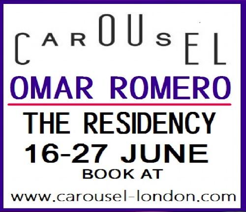 Kankun present at Carousel London by Chef Omar Romero's