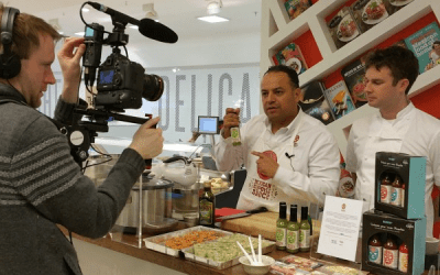 Cooking with Chef Richard McGeown