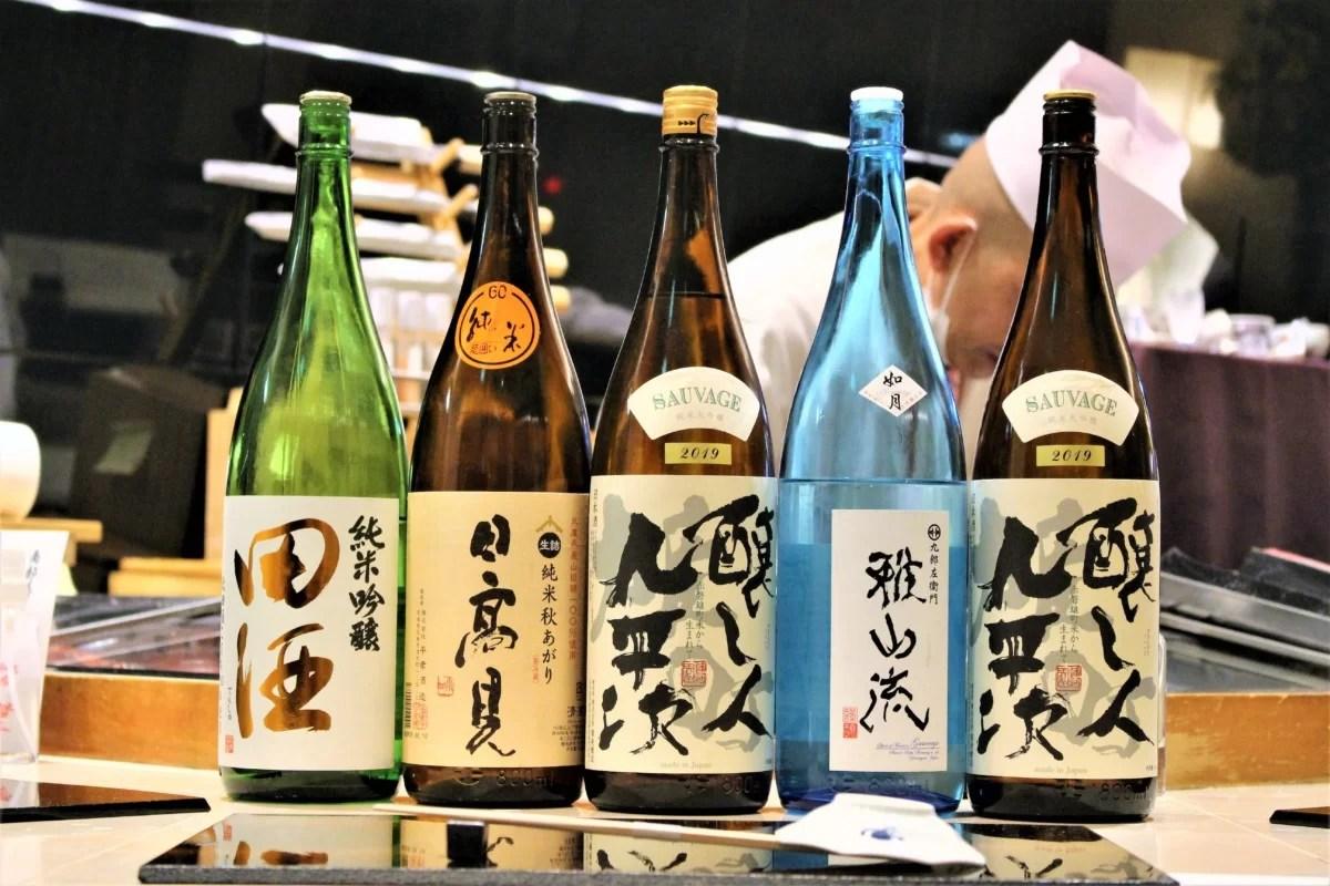 銘酒ぞろいの日本酒
