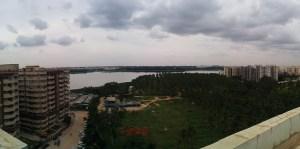 Bellandur Lake, southeast of Bangalore