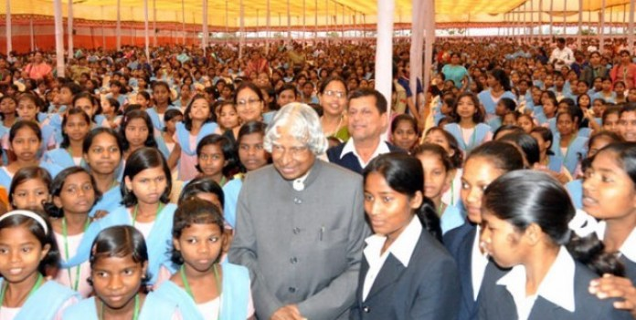 Kalam Loved Kids a lot