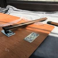バンテックZIL テーブルレッグ(脚)の修理・交換 キャンピングカーレンタル滋賀