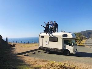 太平洋とキャブコンキャンピングカーバンテックZIL(ジル) 滋賀県長浜市のキャンピングカーレンタル滋賀 カノアカーレンタル