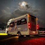 ナッツRVボーダーバンクス(バスコン)で車中泊旅  滋賀県長浜市のキャンピングカーレンタル滋賀カノアカーレンタル