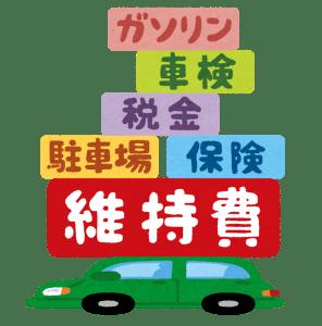 車と維持費
