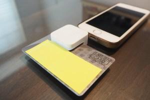 Square(スクエア―)の利用例 クレジットカード決済