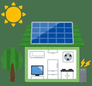 スマートハウス 太陽光発電と蓄電池