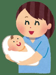 出産後の赤ちゃんとママ
