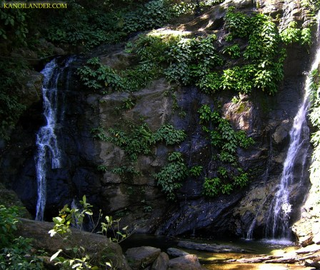 Tamaraw Falls, lower portion.