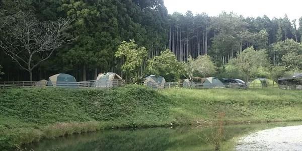 栃木県のドッグフリーサイトがあるキャンプ場「尚仁沢アウトドアフィールド」