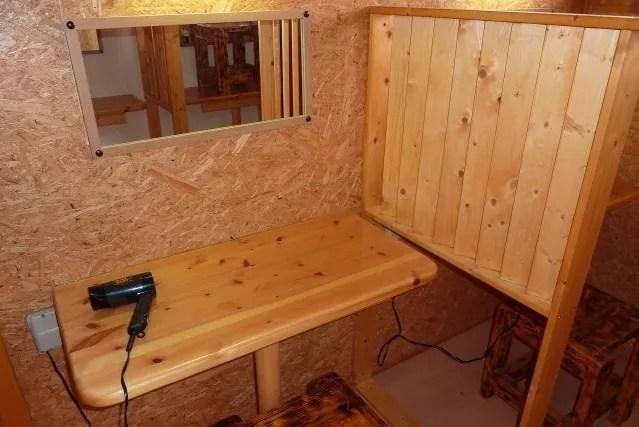 ウエストリバーオートキャンプ場のパウダールーム