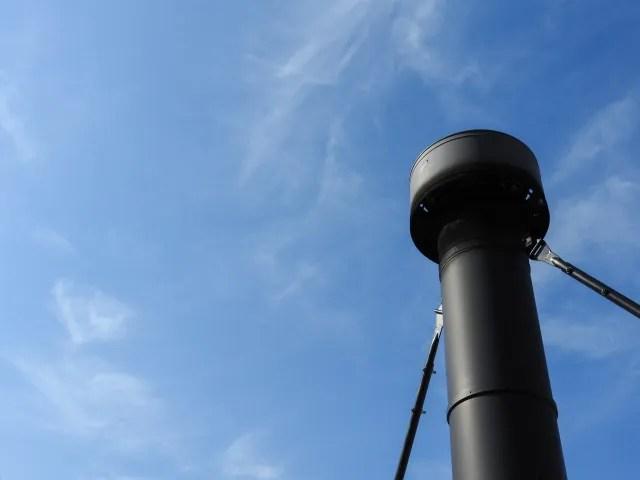 テントの煙突