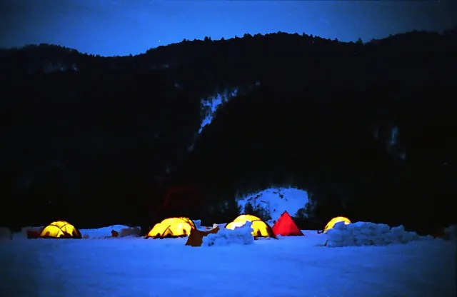 冬キャンプは楽しい