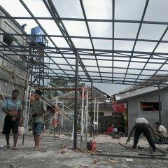 Harga Kanopi Baja Ringan Atap Spandek Serpong Tangsel Garasi Jakarta