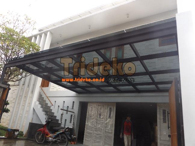 Pasang Kanopi Kaca Laminated Cipete Jakarta Selatan