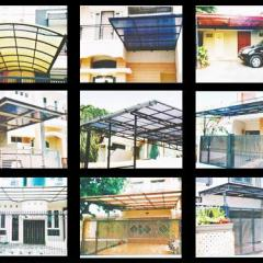 Gambar Kanopi Bahan Baja Ringan 0821.4054.6345 Pesan Rumah Di Malang | Pembuatan ...