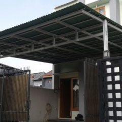 Canopy Baja Ringan Di Jakarta Pemasangan Kanopi Murah Atap Gogreen Klender