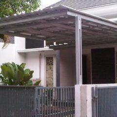 Contoh Rangka Atap Baja Ringan Minimalis Daftar Harga Dan Cara Hitung Rumah Kanopi