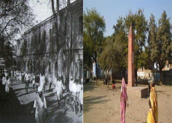 लेबर मूवमेंट का गढ़ थाकानपुर, स्वदेशी मिल परिसर में 13 मजदूरदफ्न!