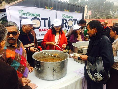 परिवर्तन संस्था:पांच रुपये में गरीबों को भरपेट भोजन