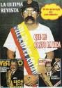El rockero Jaime Pancho hueveando a los políticos (Febres Cordero izq. - Rodrigo Borja dcha.)