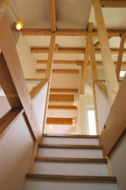 亀岡市 新築 階段 菊池さま邸2