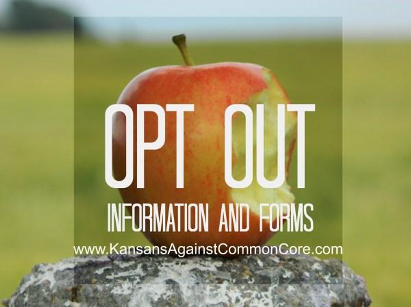 Opt Kansans Common Core
