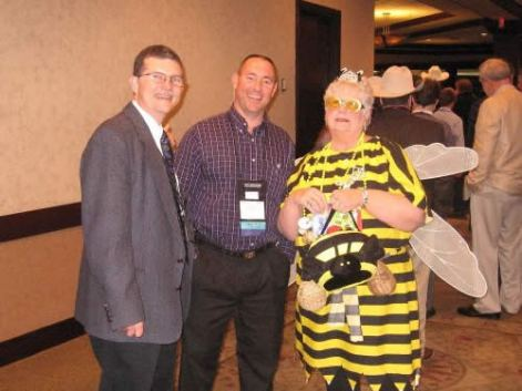 Even the guest president from Missouri - Larry Atterberry, Jr and John Kincaid were victims of the Queen Bee