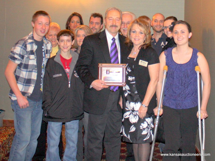 Rick Brock – Award of Distinction and his family