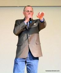 Rodney Burdiek competing in the 2016 Kansas Auctioneer Preliminaries.