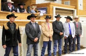 2017 Kansas Livestock Auctioneer contestants