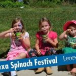 Experience the world's largest spinach salad at the Lenexa Spinach Festival