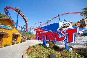 Worlds of Fun amusement park in Kansas City
