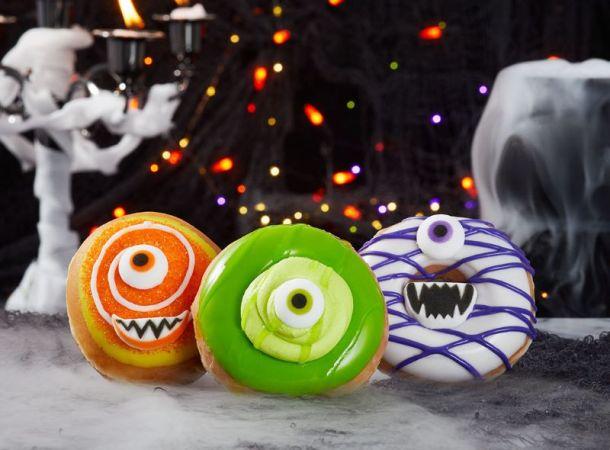 Krispy Kreme Halloween Monster Doughnuts