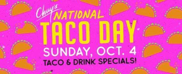 Kansas City National Taco Day at Chuy's